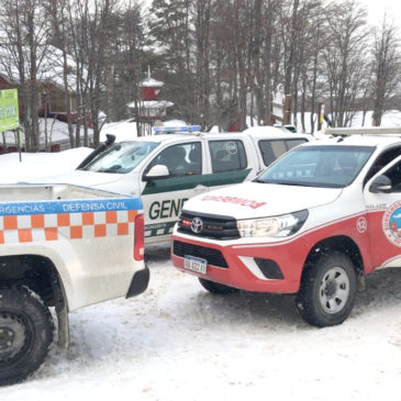 Un niño sufrió congelamiento de pies en una excursión al glaciar Martial