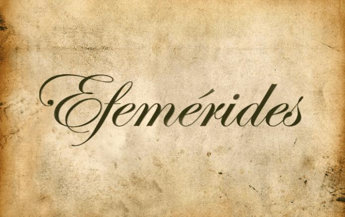 Efemérides del 15 mayo