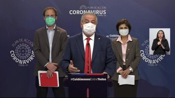 Chile registra otras 28 muertes por coronavirus y total de contagiados supera los 46 mil
