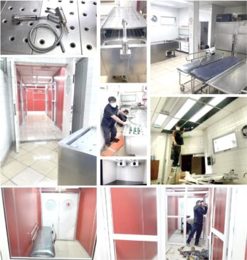 Se están refaccionando y modernizando las instalaciones de la morgue
