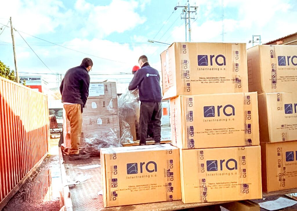 Arribaron insumos sanitarios de protección para los trabajadores del Hospital Regional Río Grande
