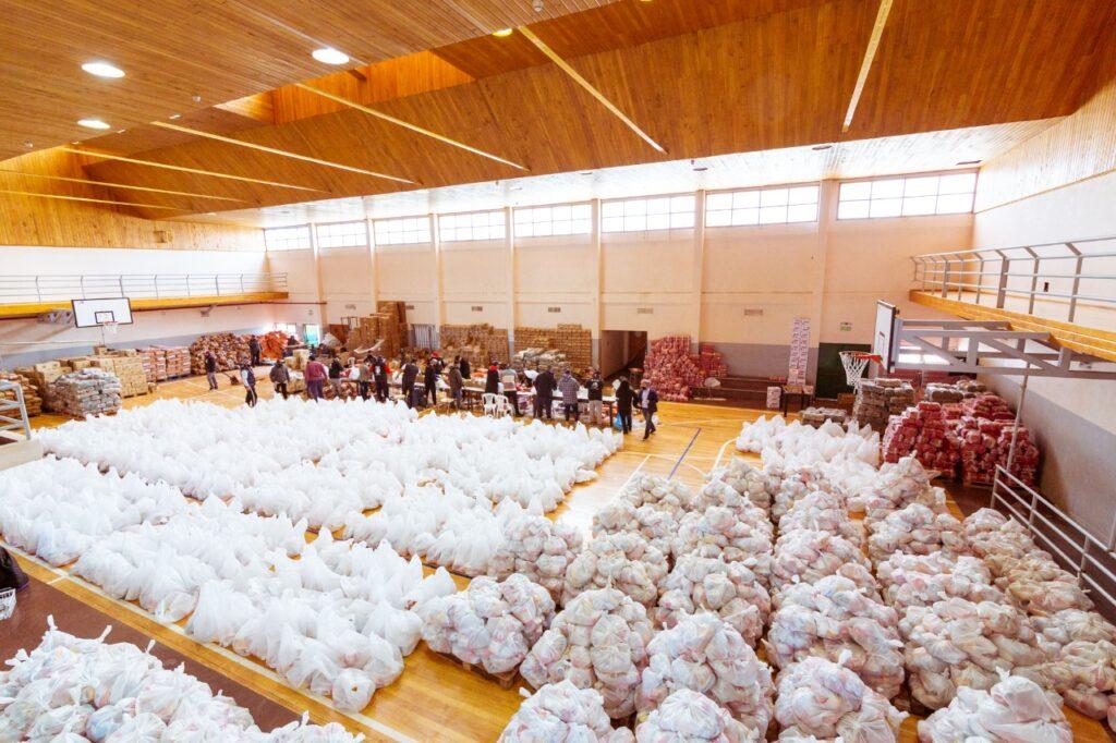 La Provincia entregó 306 mil módulos alimentarios desde el inicio de la pandemia