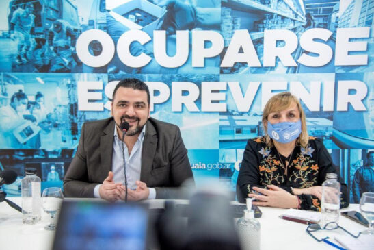 """Muñiz Siccardi: """"Anualmente compramos unas 400 toneladas de asfalto en caliente que solo las proveen dos empresas"""""""