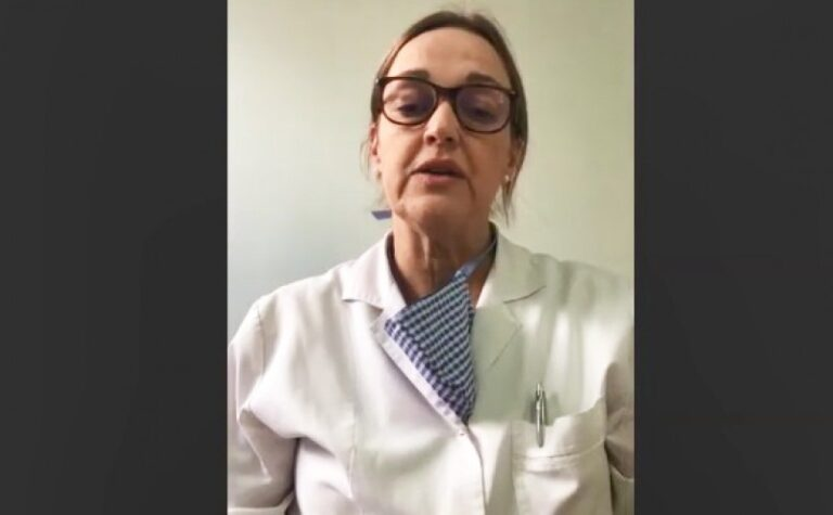 """Muller: """"Hay días con 100% de ocupación de camas y los pacientes deben esperar en la guardia a que se desocupe alguna"""""""