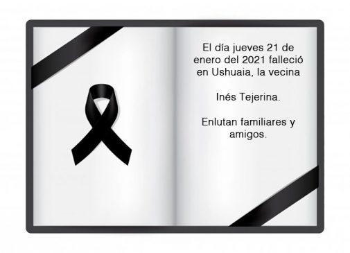 Fallecimiento | Inés Tejerina