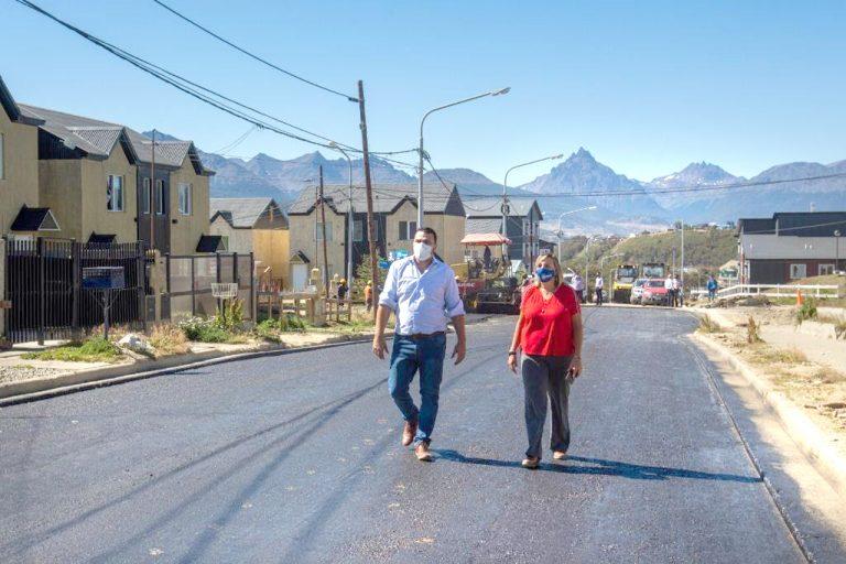 """Walter Vuoto: """"El pavimento es progreso y mejor calidad de vida para los vecinos"""""""