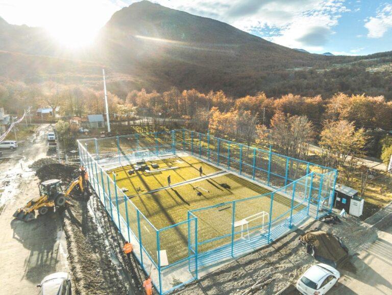 El playón deportivo de Andorra se hace realidad
