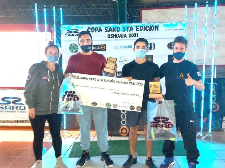 Pons y Benítez, los campeones de la Copa Saro
