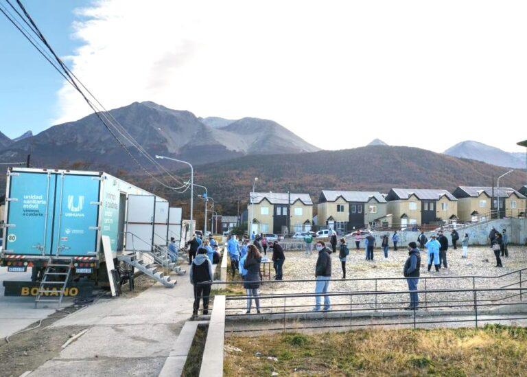 Testeos voluntarios: 32 positivos de 137 hisopados en Ushuaia y 29 sobre 231 en Río Grande
