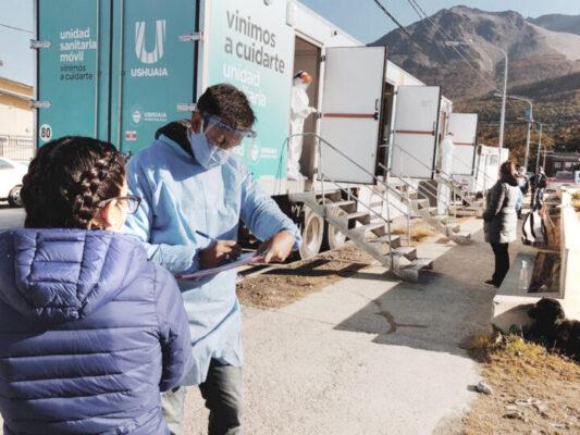 Hisopados masivos en Ushuaia: 26 casos positivos de 143 testeos